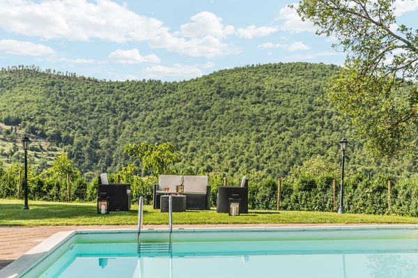 Private pool at Torre del Cielo, 5 bedrooms, walk to town
