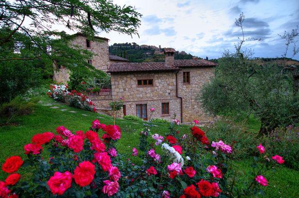 Villa Ardene, sleeps 14, private pool, walk to town