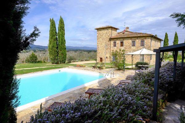 Villa Leopoldina, walk to town