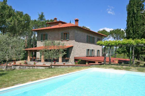 Interior Villa Scoiattolo, near Subbiano