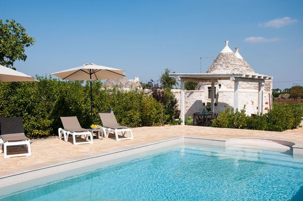 1 bedroom villa, private pool - trullo di bacco