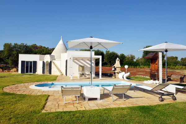 Trullo Ramachandra - 1 bedroom with private pool near beaches.